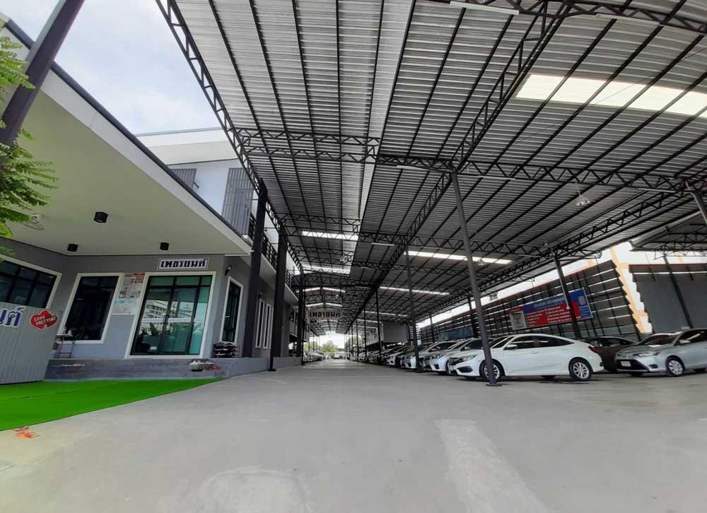 เพชรยนต์สำนักงานใหญ่ เต้นท์รถมือสอง มีนบุรี หนองจอก สุวินทวงศ์ ร่มเกล้า