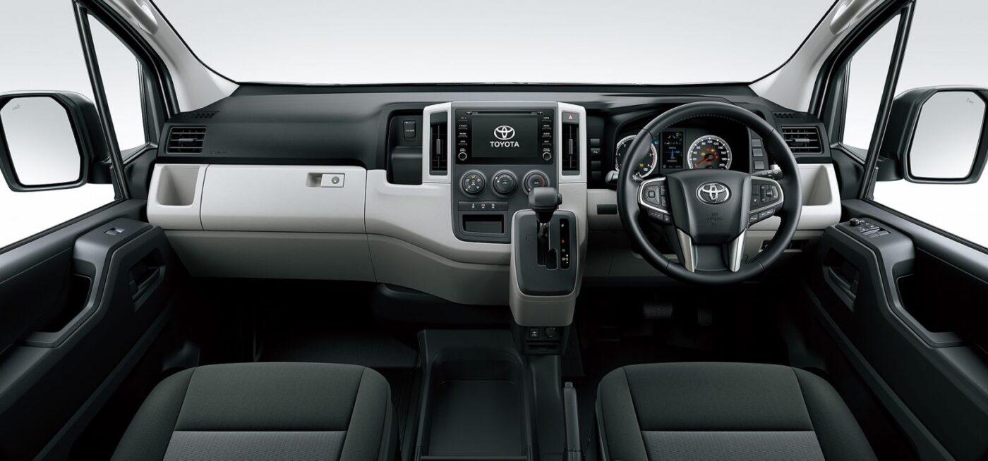 ฟังก์ชั่นภายใน รถตู้มือสอง Toyota Commuter